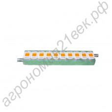 Водоблок для светодиодов алюминиевый повышенной теплоотдачи на 500Вт